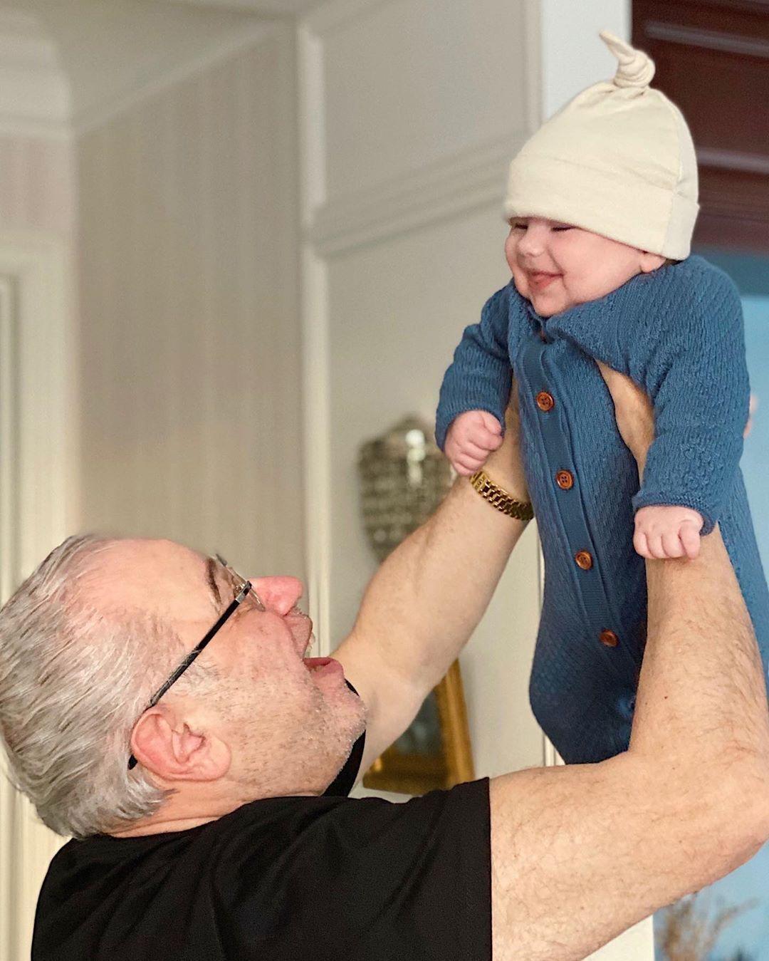 Евгений Петросян с сыном Ваганом (Instagram Евгения Петросяна)