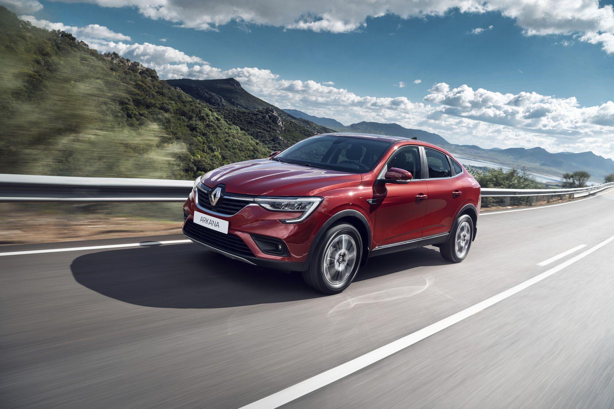 Renault Arkana. Фото: