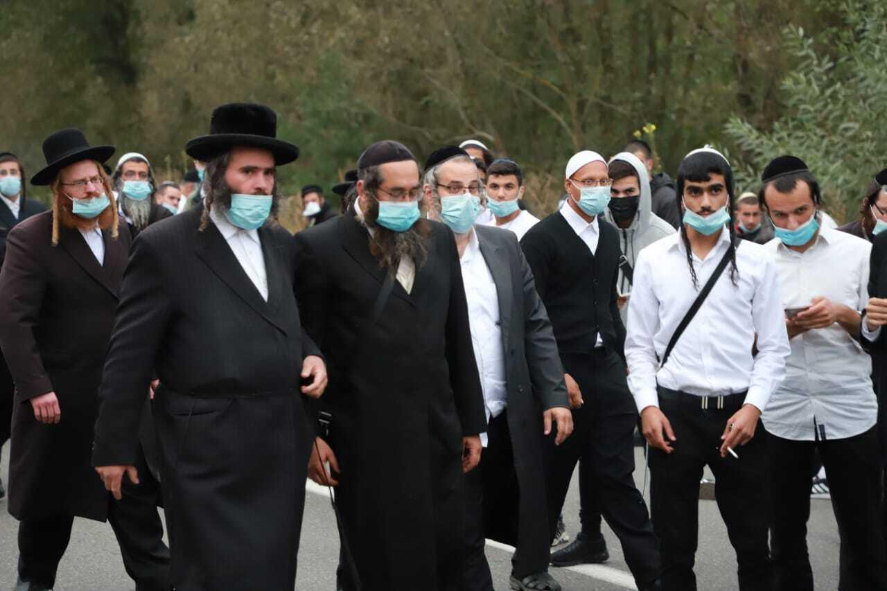 У 2020 році Україна ввела ряд обмежень на час святкування єврейського Нового року