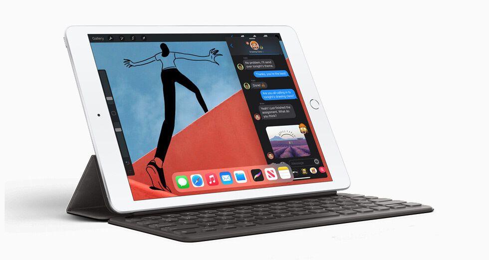 iPad 8 продолжил линейку бюджетных планшетов с диагональю 10,2