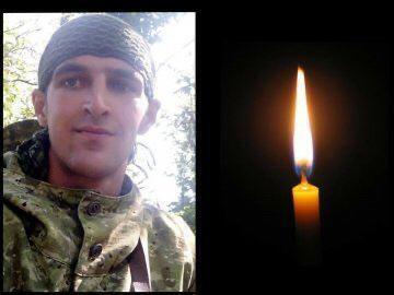 На Донбасі загинув.