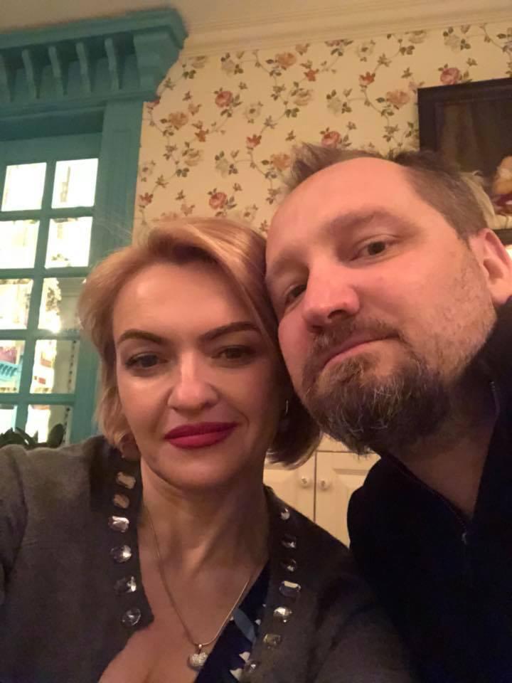 Олег Басилайшвили с супругой Ириной.