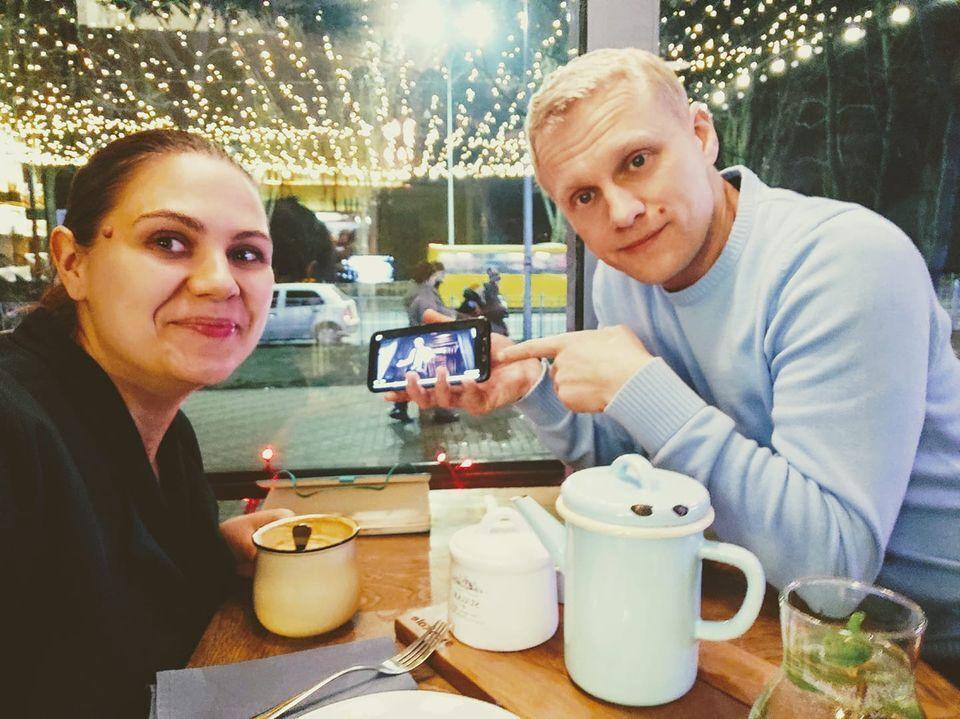 Елена и Виталий Шабунины