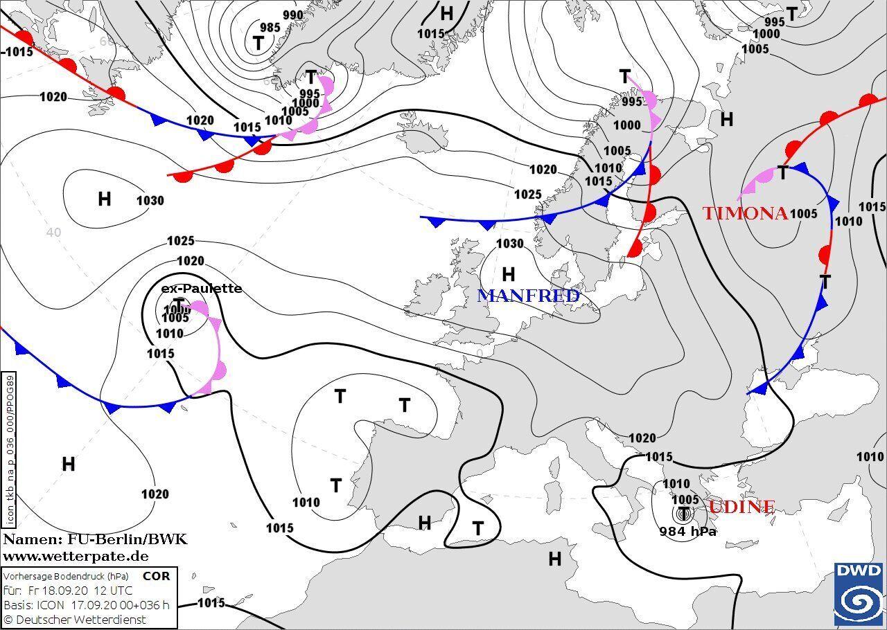 В Украине ожидается сильный северо-западный и северный ветер.
