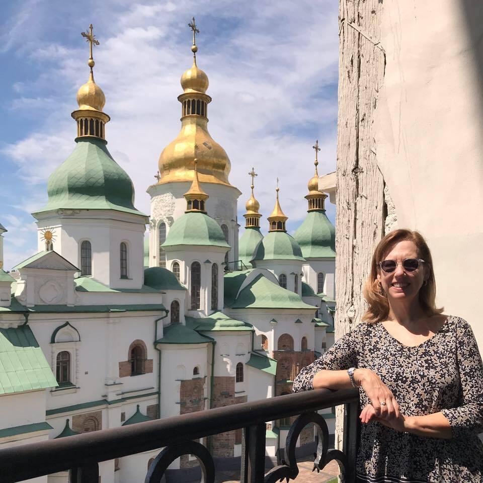 Кристина Квин в Киеве
