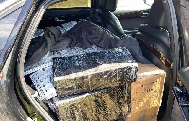 На границе задержали контрабандные сигареты