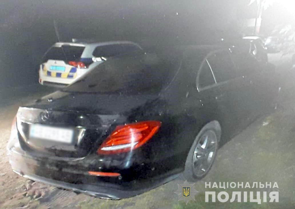 Автомобіль викрадачів.