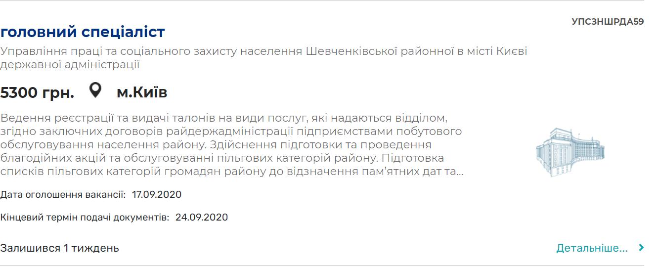 В Украине ищут чиновников на зарплату от 5000 грн, но получают они втрое больше