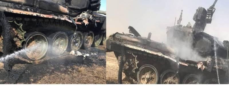 Военные РФ ударили по боевой машине из ПТРК