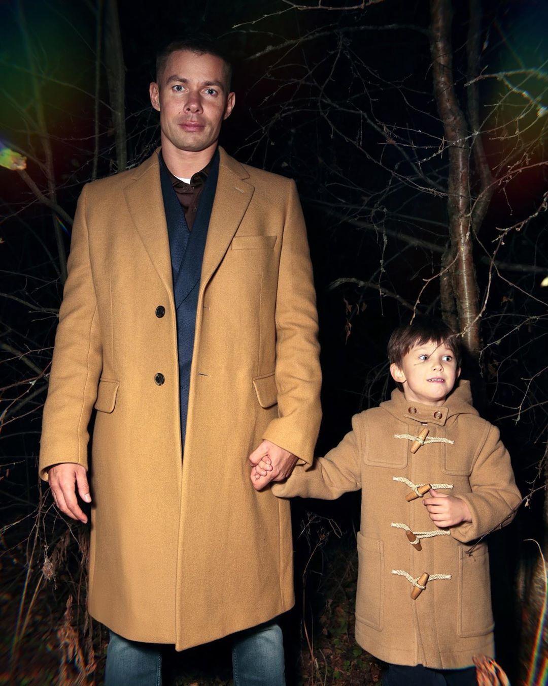 Стас П'єха з сином Петром (Instagram Стаса П'єхи)