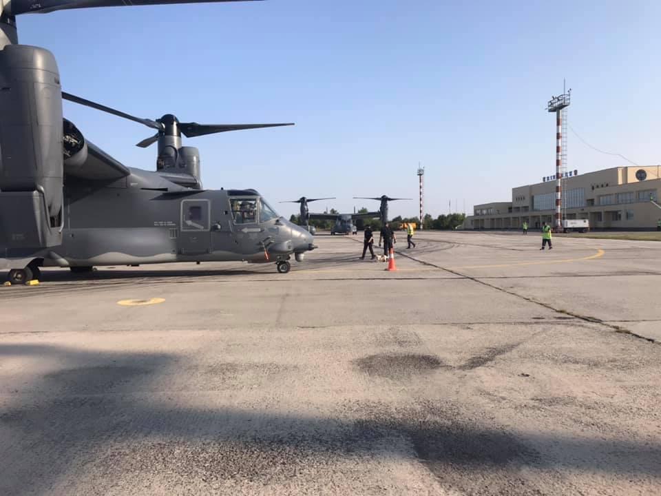 Bell V-22 Osprey в Виннице.