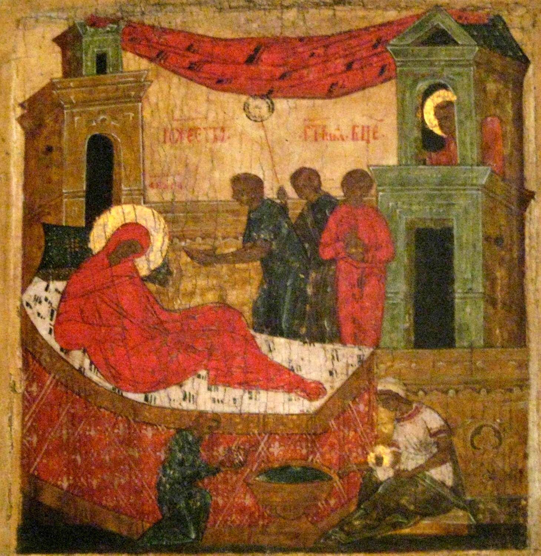 Різдво Пресвятої Богородиці, ікона XVI-XVII століть