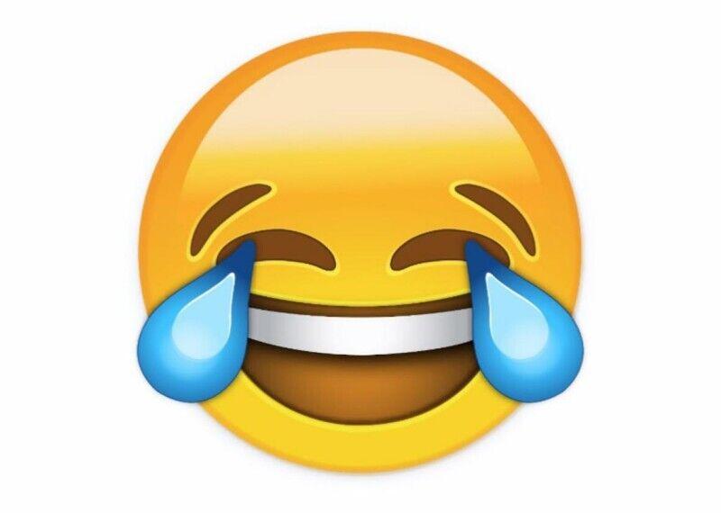 """Самым популярным в мире смайликом в настоящее время является """"лицо со слезами радости"""""""