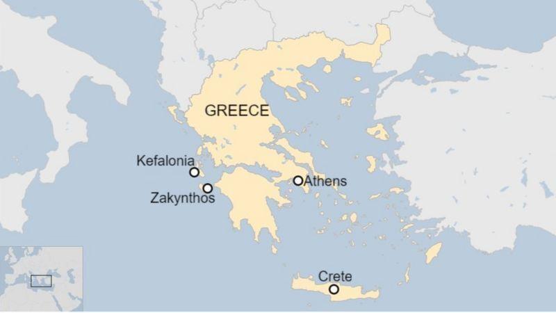 Регионы Греции, по которым пройдется шторм