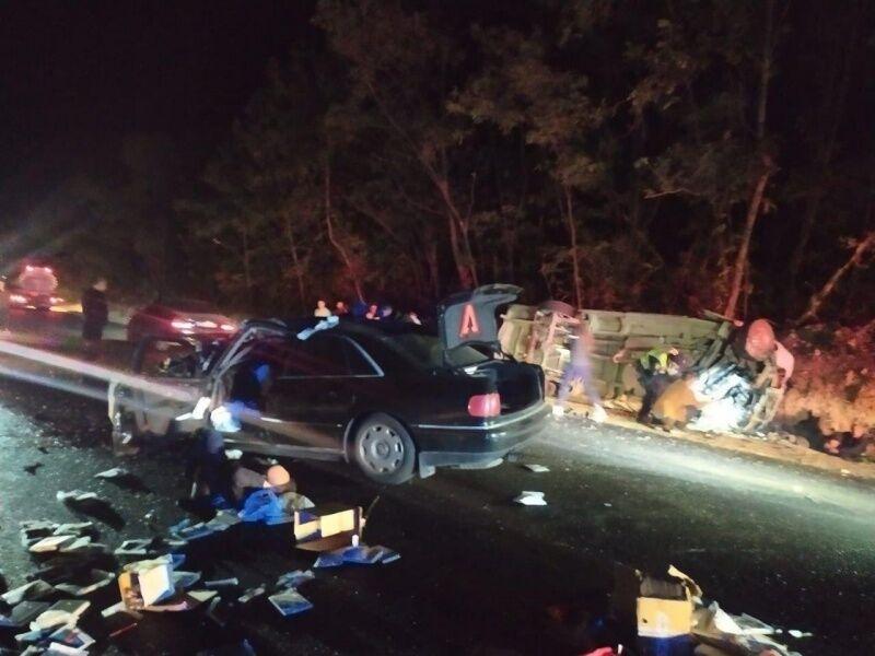 У нічній ДТП на Буковині загинула пасажирка мікроавтобуса