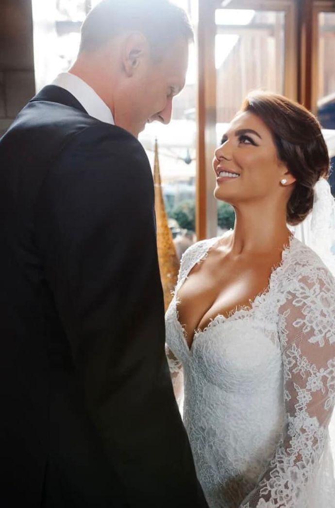 Свадьба Анны Седоковой и Яниса Тимма.