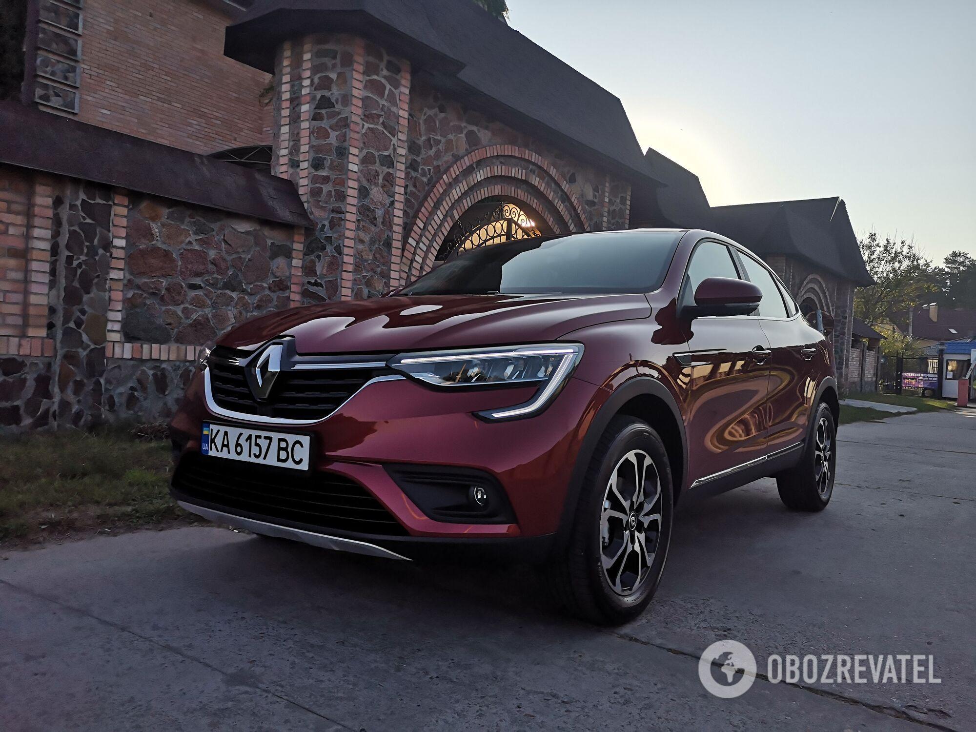 Renault Arkana. Фото: .