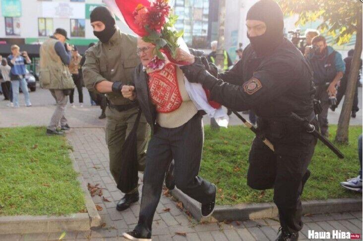 Была задержана 73-летняя активистка.