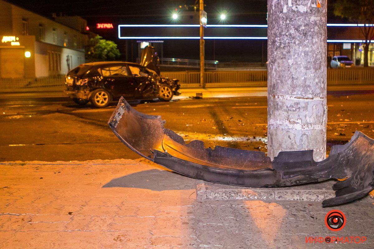 Обидва авто отримали серйозні пошкодження.