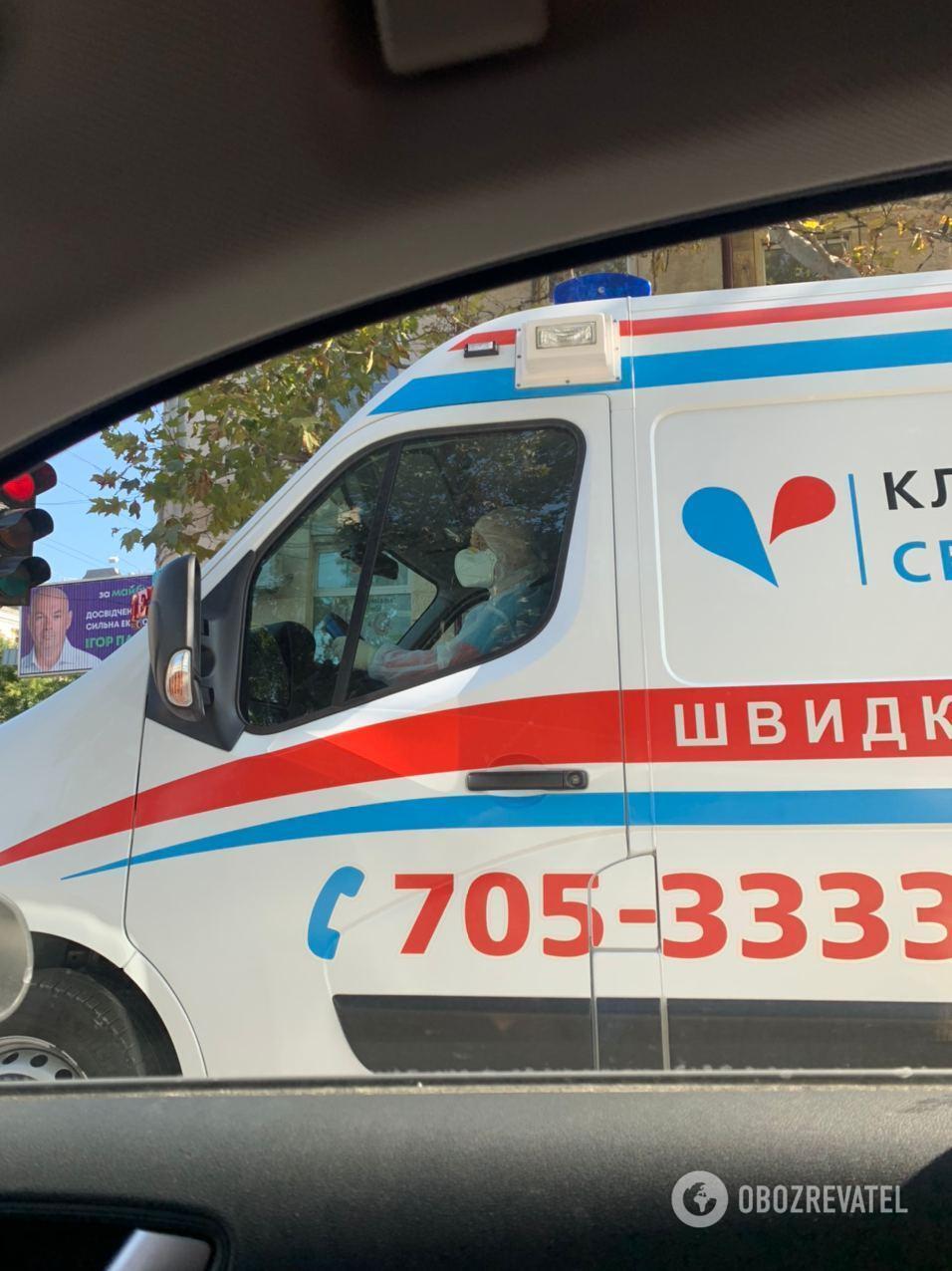 Швидка в Одесі