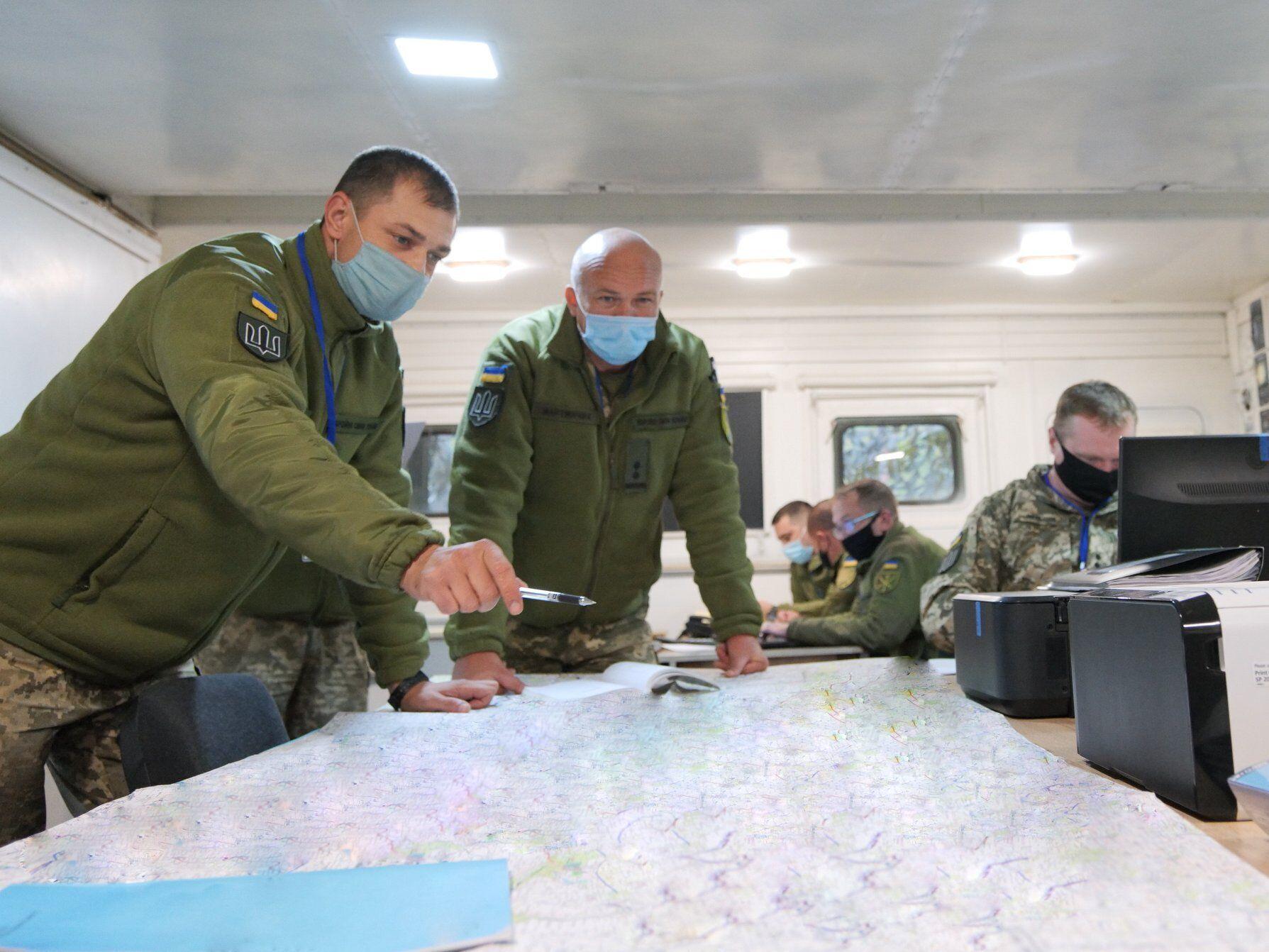 """В командовании ОС ВСУ пока продолжаются мероприятия оперативной подготовки к """"Объединенным усилиям – 2020""""."""