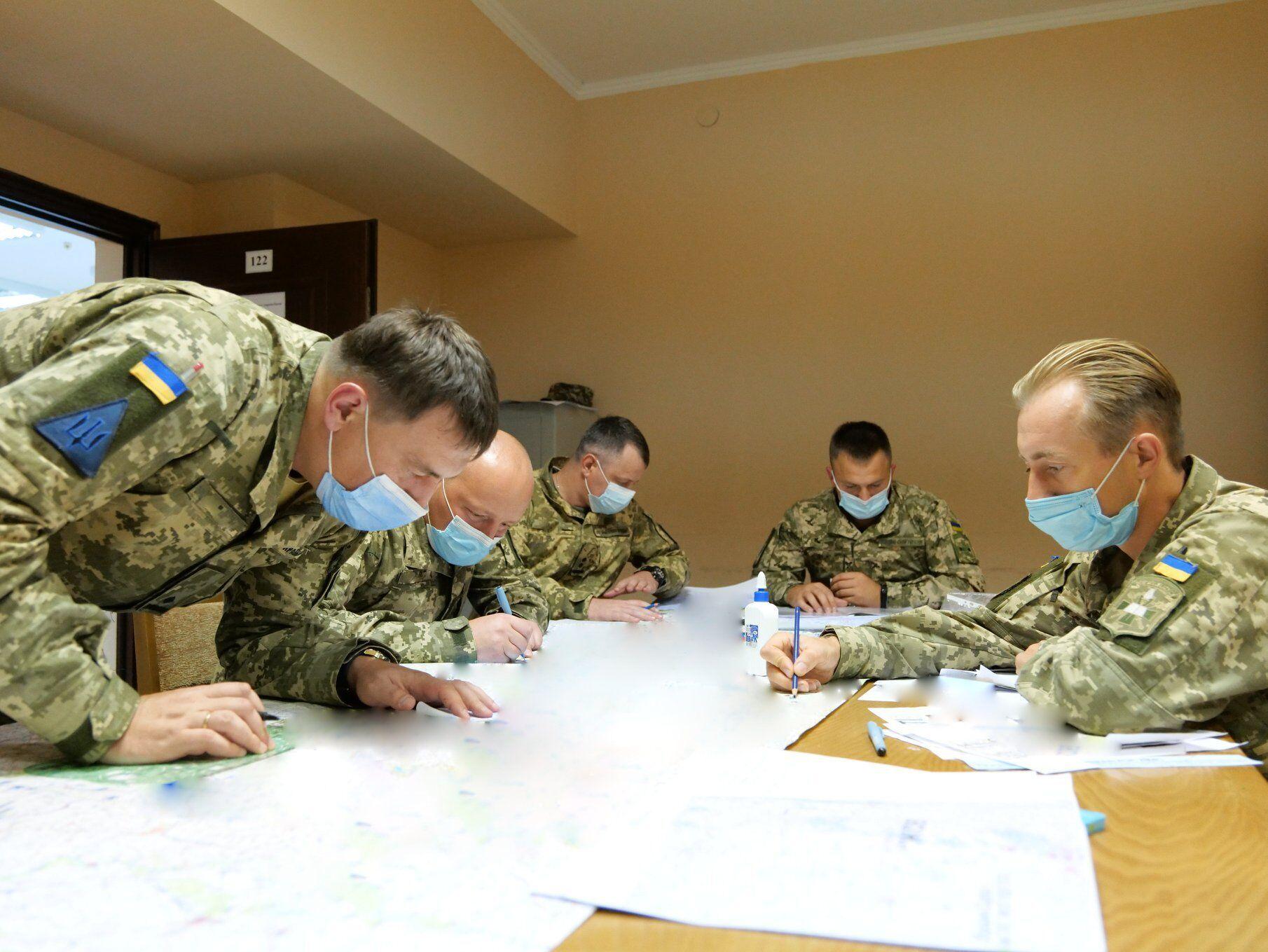 В ВСУ проводятся штабные тренировки