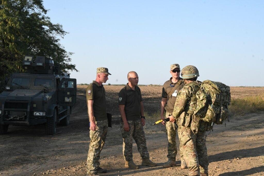 """В Украине начались военные учения """"Объединенные усилия - 2020""""."""