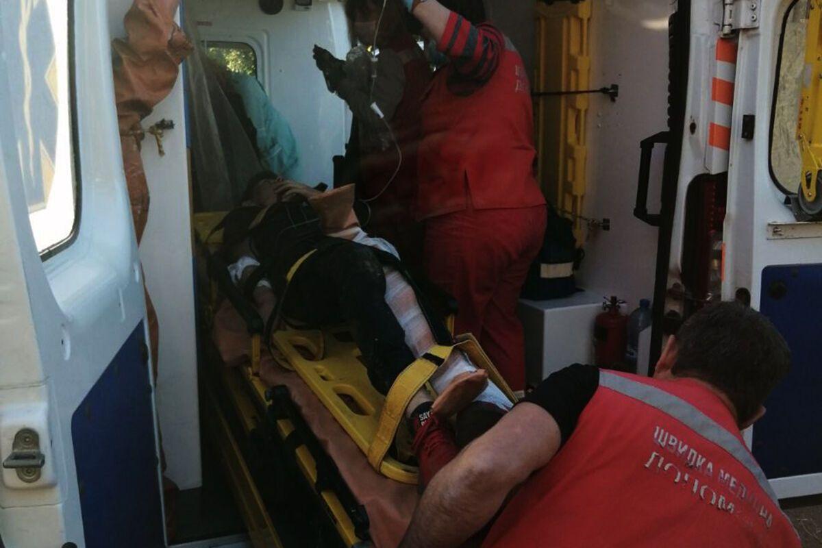 Потерпевшего госпитализировали в городскую больницу №8.