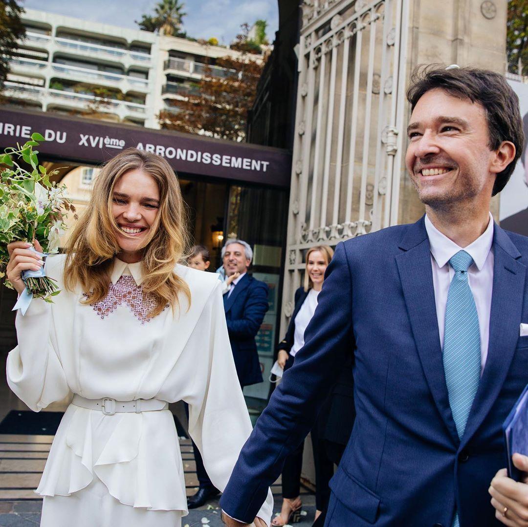 Наталья Водянова вышла замуж за Антуана Арно (Instagram Натальи Водяновой)
