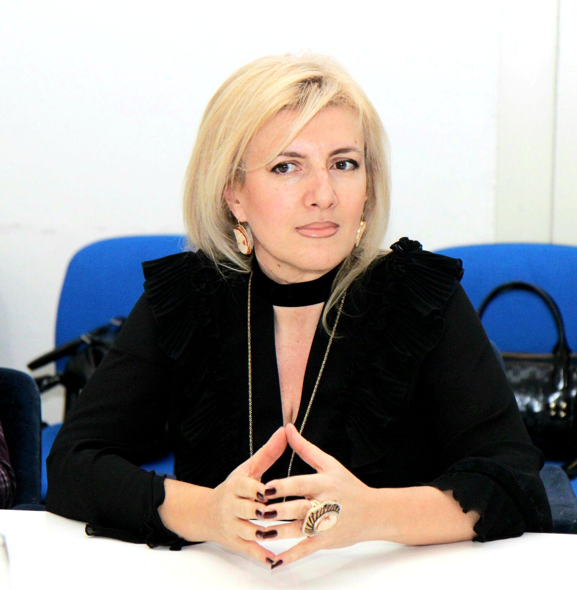 Анастасия .Миранович, председатель жюри.