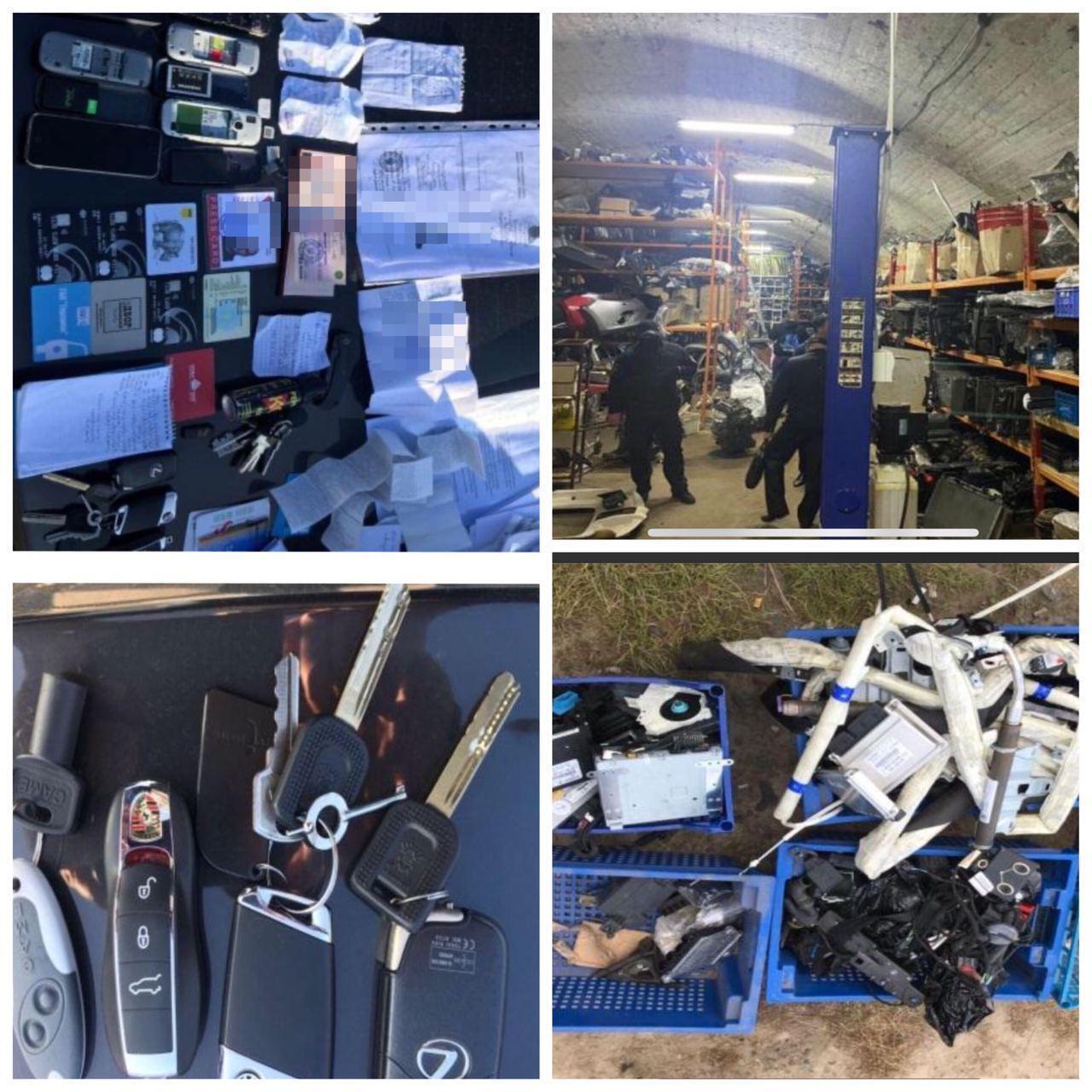Найдены рации, пистолеты, патроны, десятки мобильных телефонов