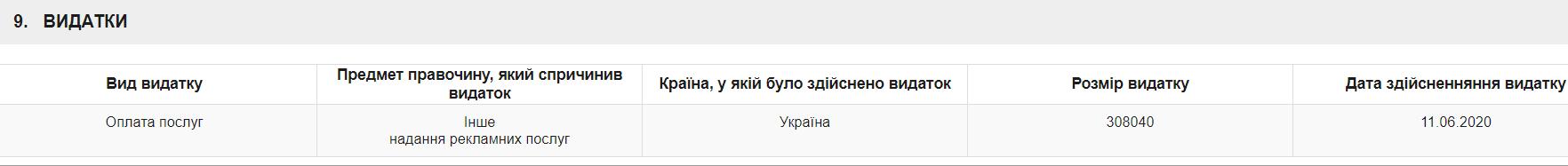 Декларація Миколи Тищенка.