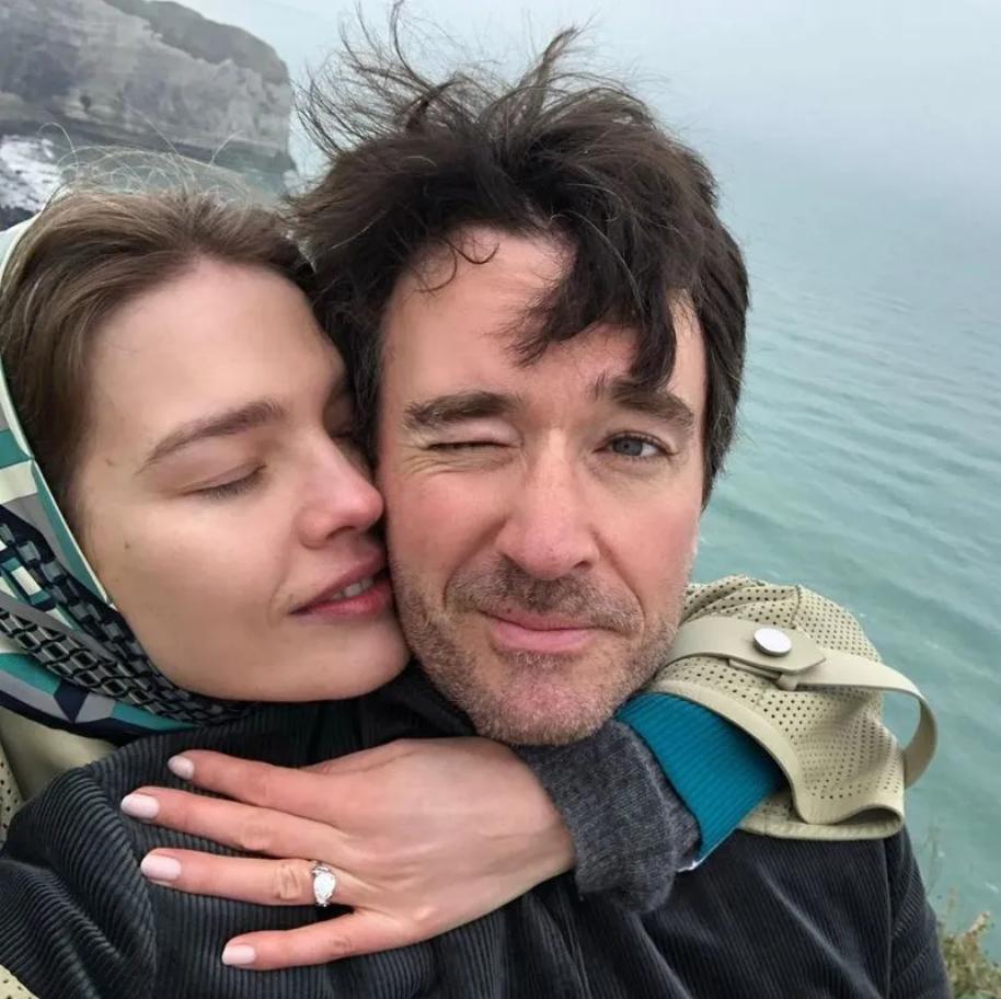Наталья Водянова и Антуан Арно (Instagram Натальи Водяновой)