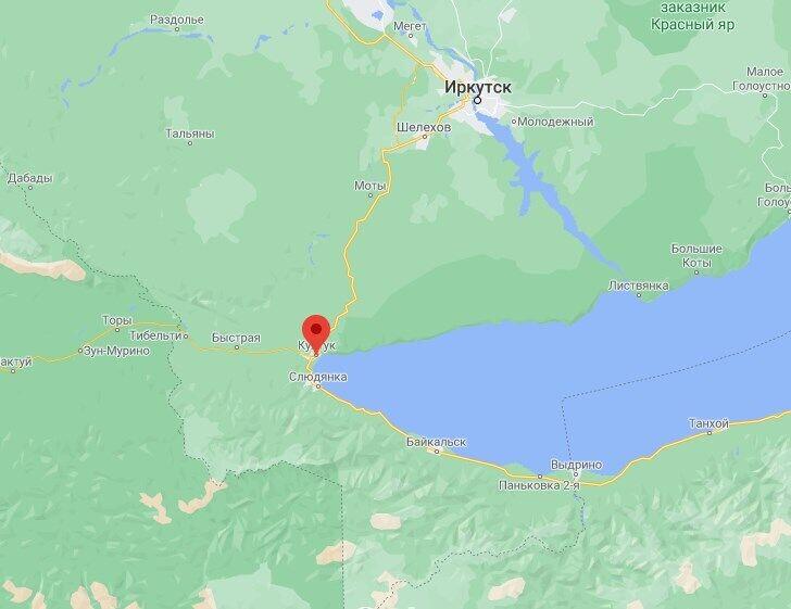 Эпицентр землетрясение находился в поселке Култук.