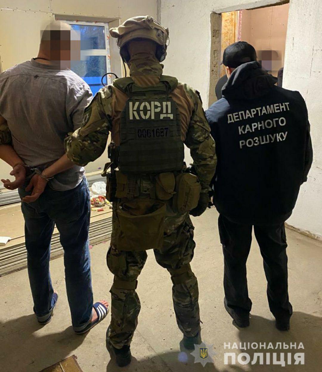 На Дніпропетровщині затримали злочинне угруповання.