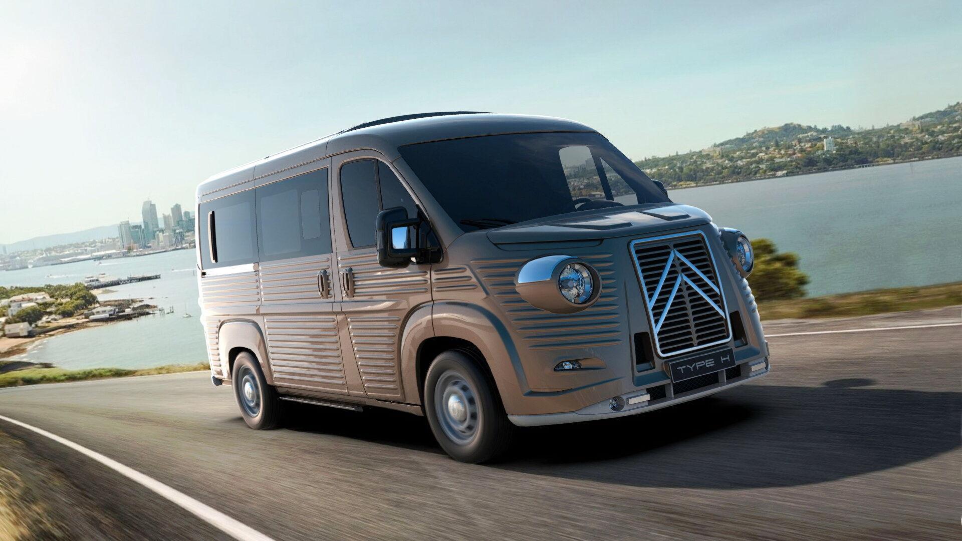 Мікроавтобус Carrosserie Caselani Type H. Фото:
