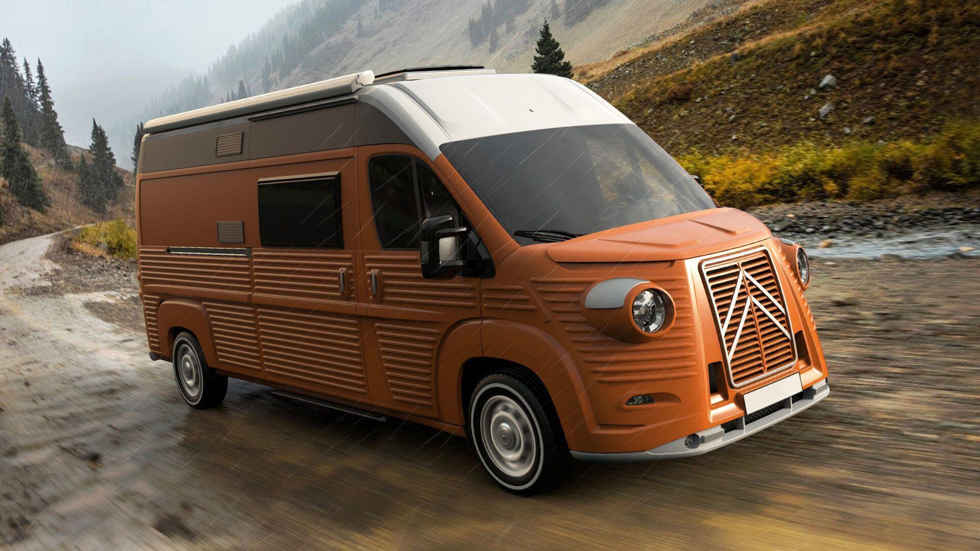 Вантажно-пасажирський фургон Carrosserie Caselani Type H. Фото: