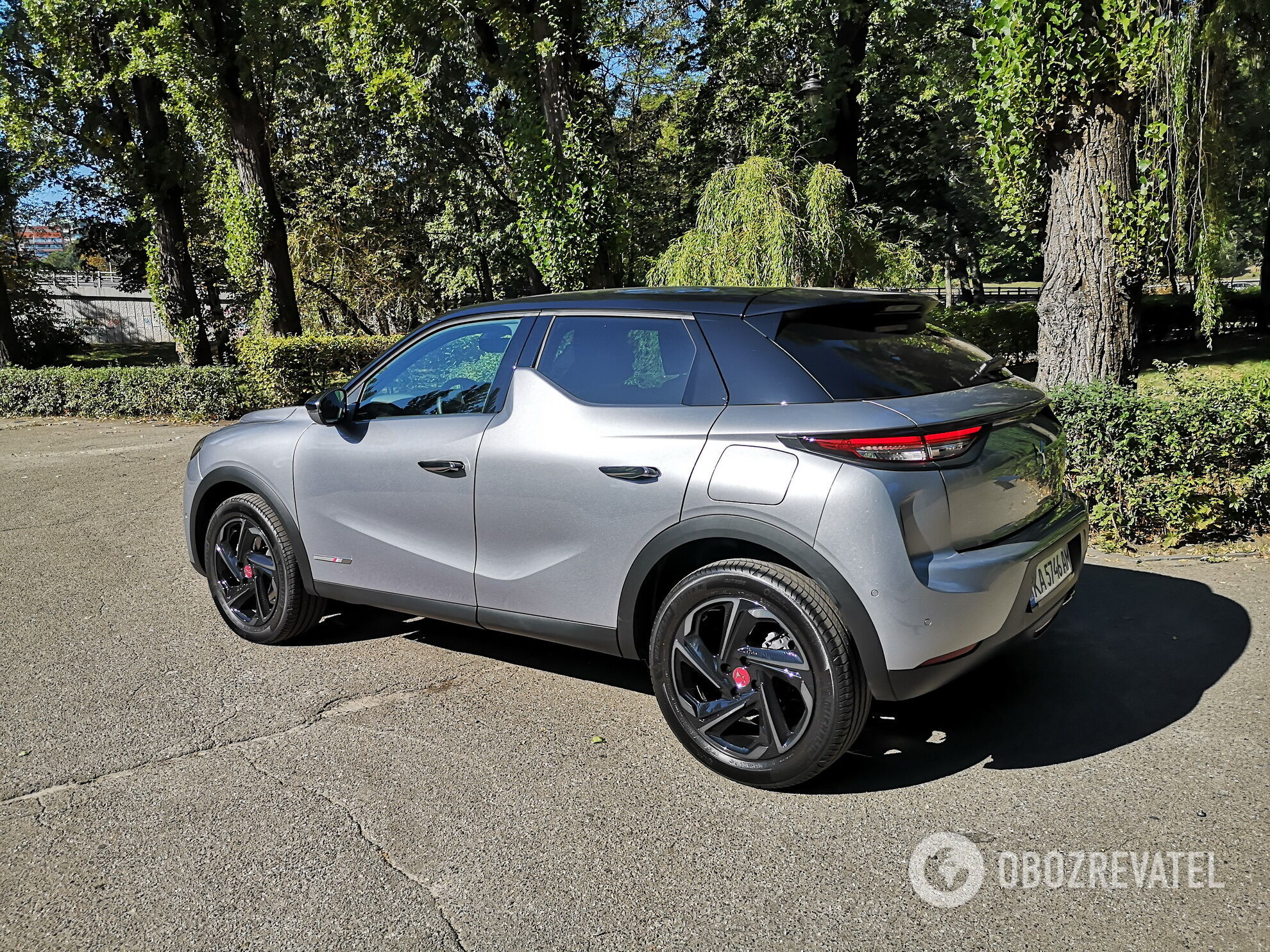 DS 3 Crossback. Фото: