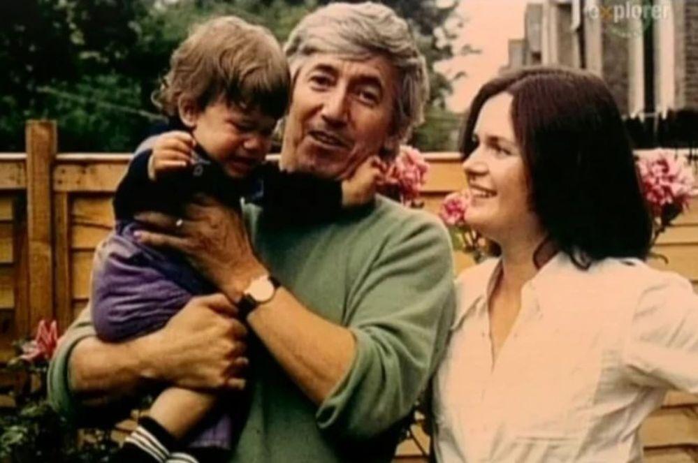 Георгий Марков с семьей.