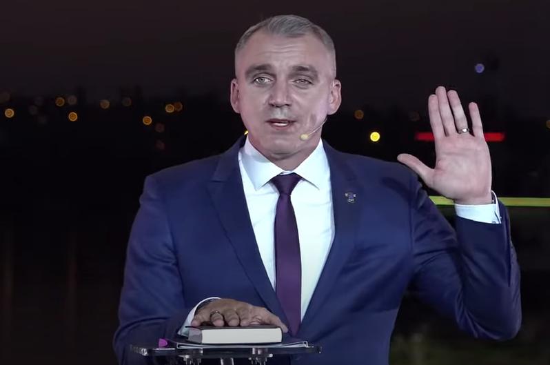 Мэр Николаева поклялся на Библии