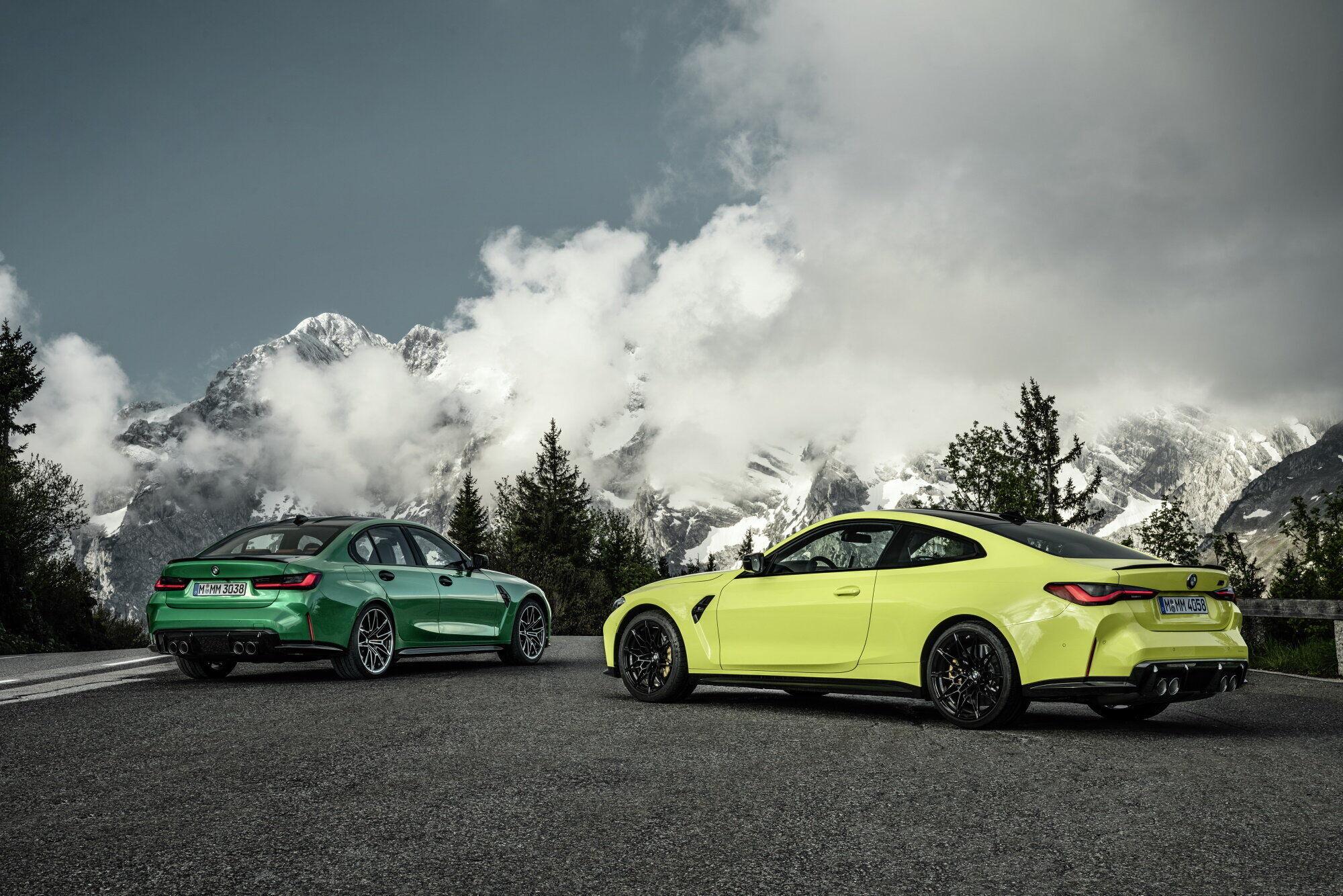 Нові BMW M3 і M4 2021.