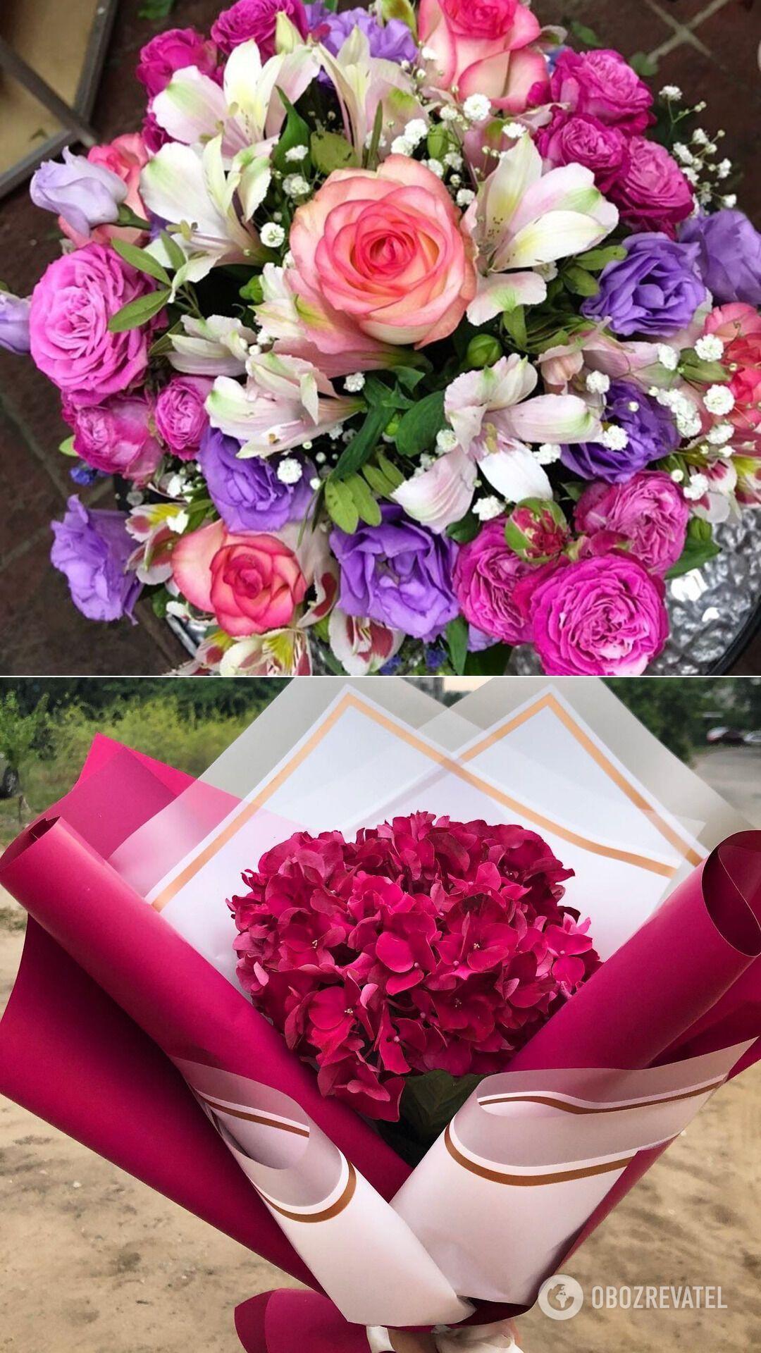 Квіткові набори в Дніпрі