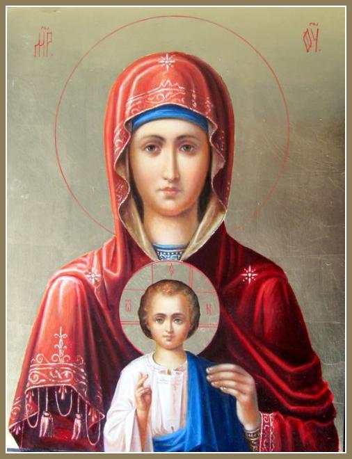 """Ікона Богородиці """"Услишательниця"""" (Зографська) зберігається на Афоні"""
