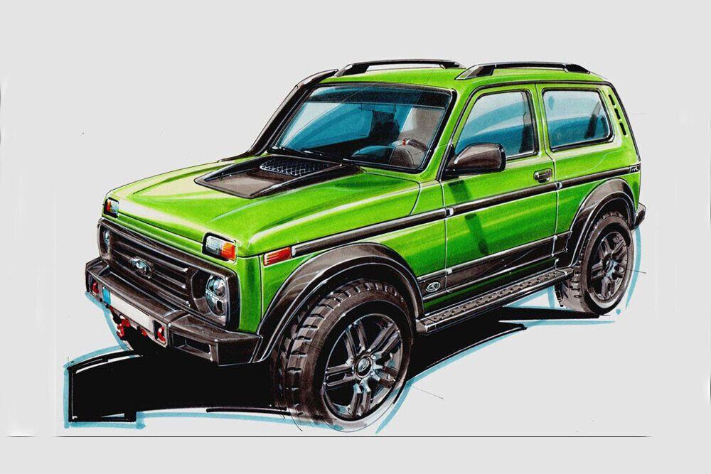 Lada Niva немецкой сборки будет выпущена тиражом в 50 экземпляров.