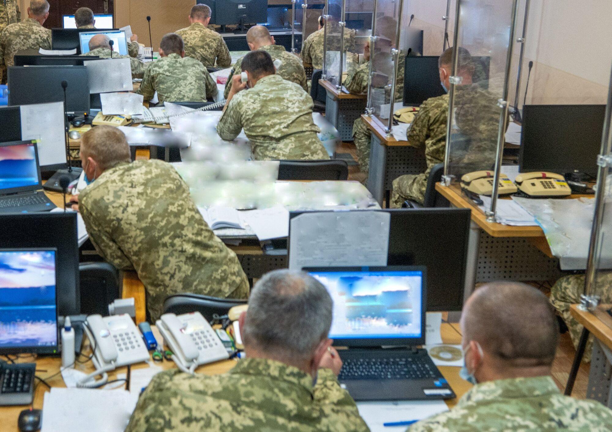 Командування ОС ЗСУ почало управління силами оборони в межах навчань.