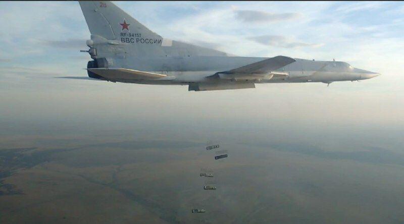 Літак з маркуванням ВВС Росії