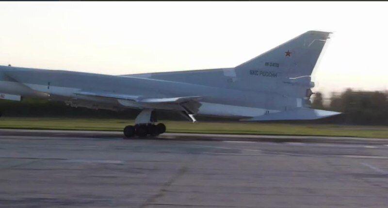 Літак із маркуванням ВКС Росії