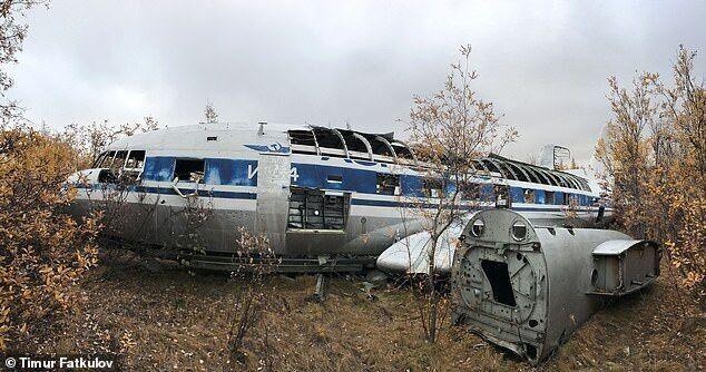 Літак Хрущова знайшли в Якутії.