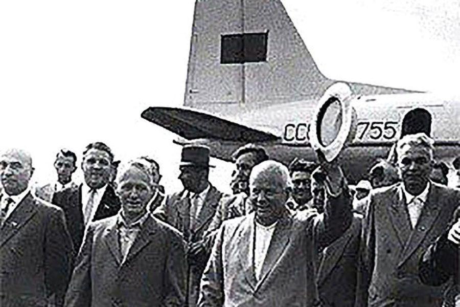 Літак був обладнаний безпрецедентними зручностями.