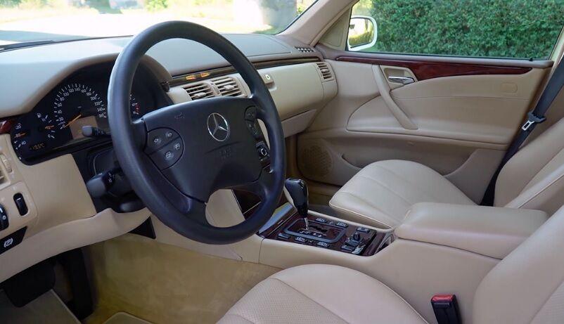 Mercedes W210 с минимальным пробегом.